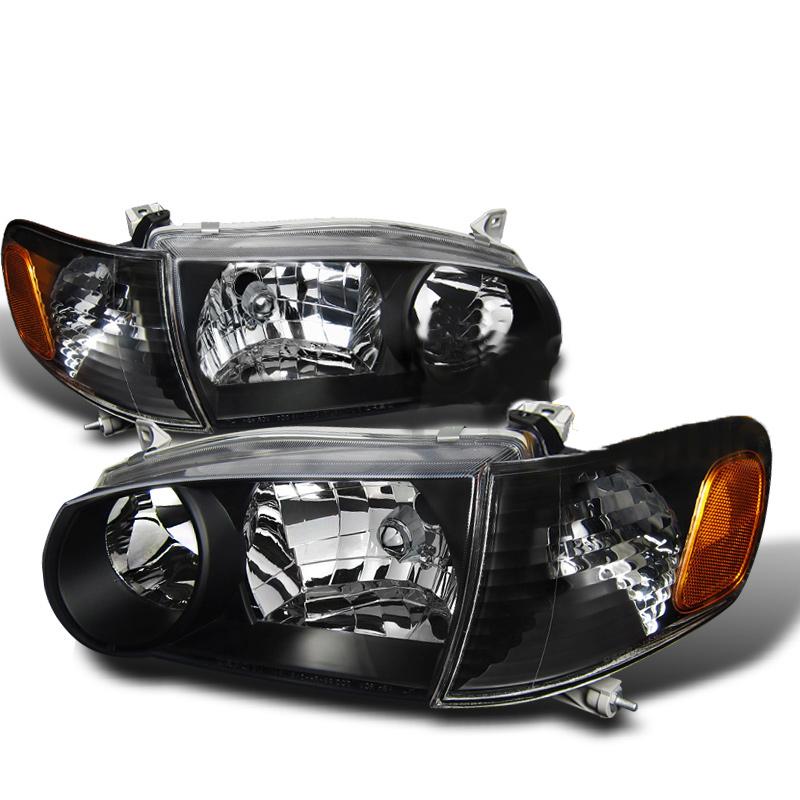2001 Toyota Corolla Aftermarket Headlights