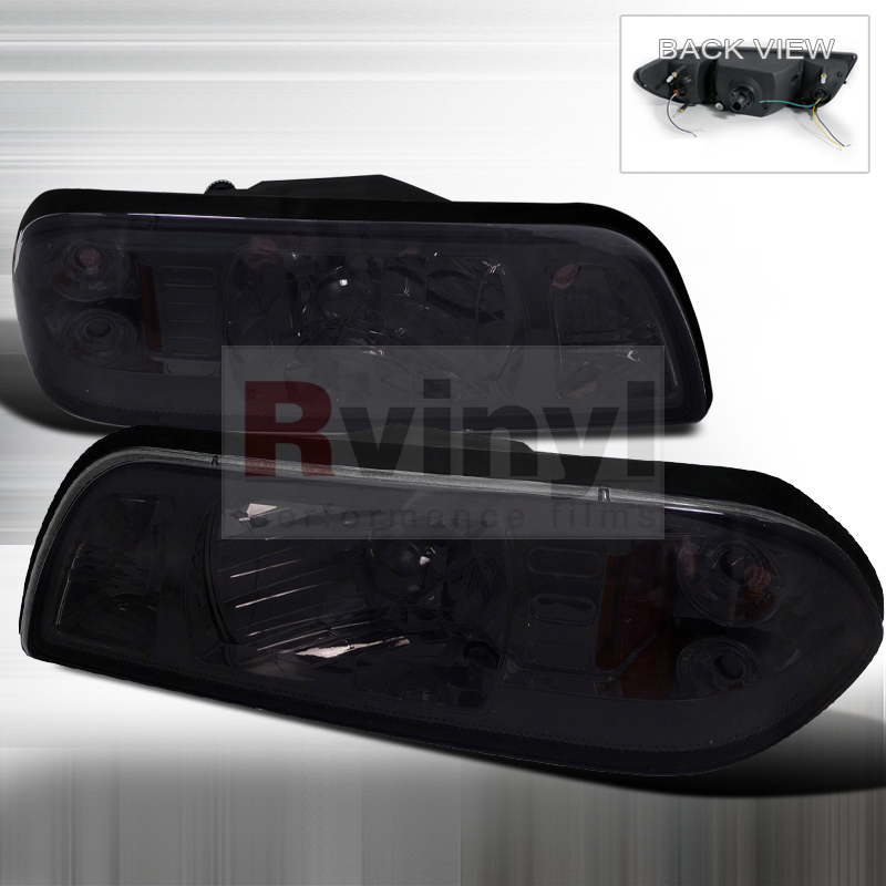 1991 Ford Mustang Aftermarket Headlights