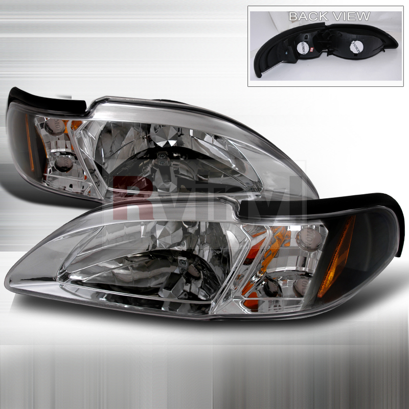 1994 Ford Mustang Aftermarket Headlights