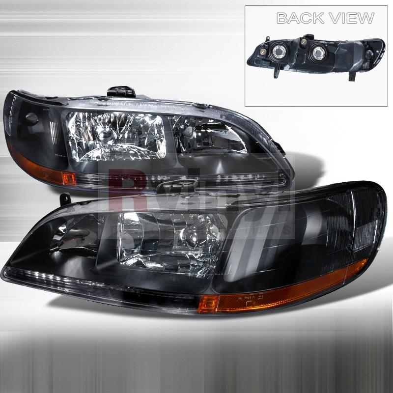 1998 Honda Accord Aftermarket Headlights