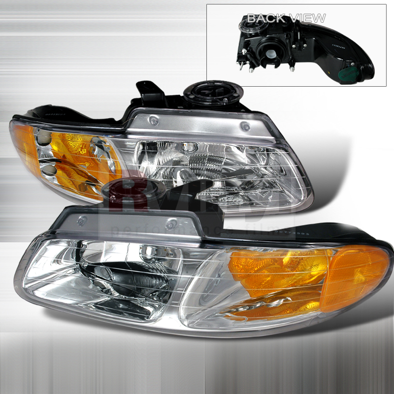 1999 Dodge Caravan Aftermarket Headlights