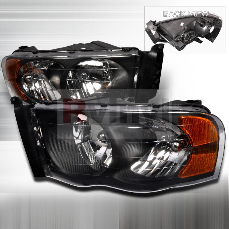 2003 Dodge Ram Aftermarket Headlights