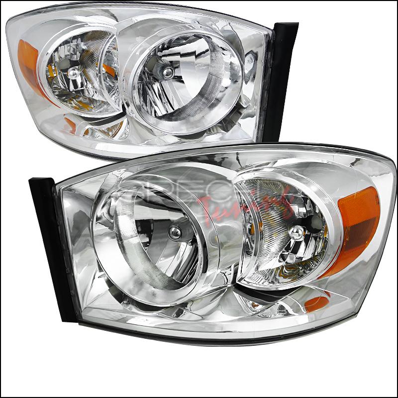 2008 Dodge Ram Aftermarket Headlights