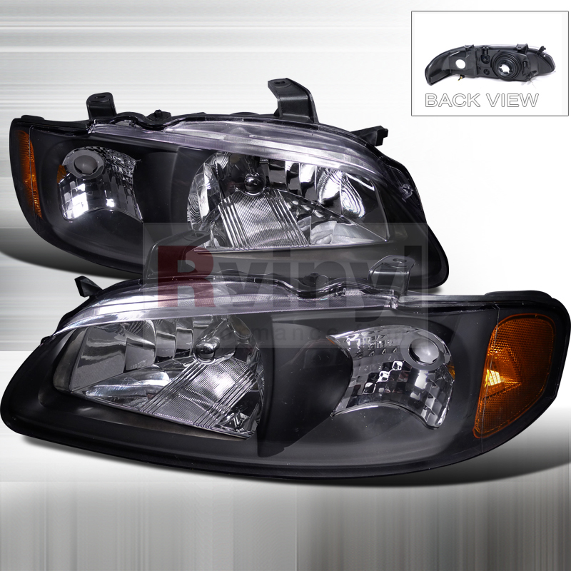 2002 Nissan Sentra Aftermarket Headlights
