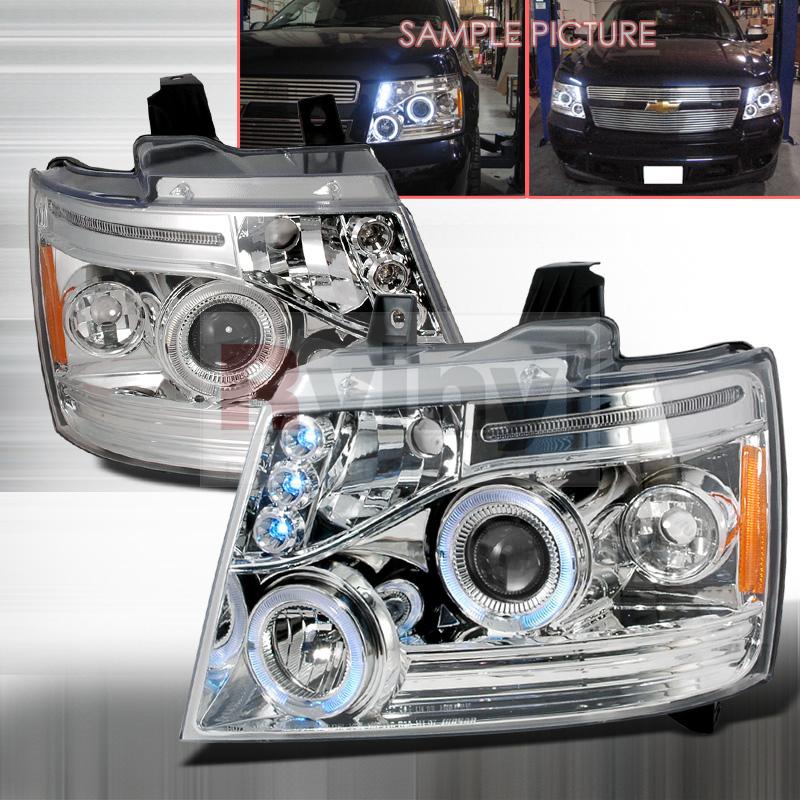 2008 Chevrolet Avalanche Aftermarket Headlights