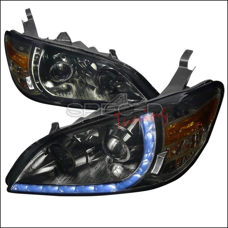 2005 Honda Civic Aftermarket Headlights