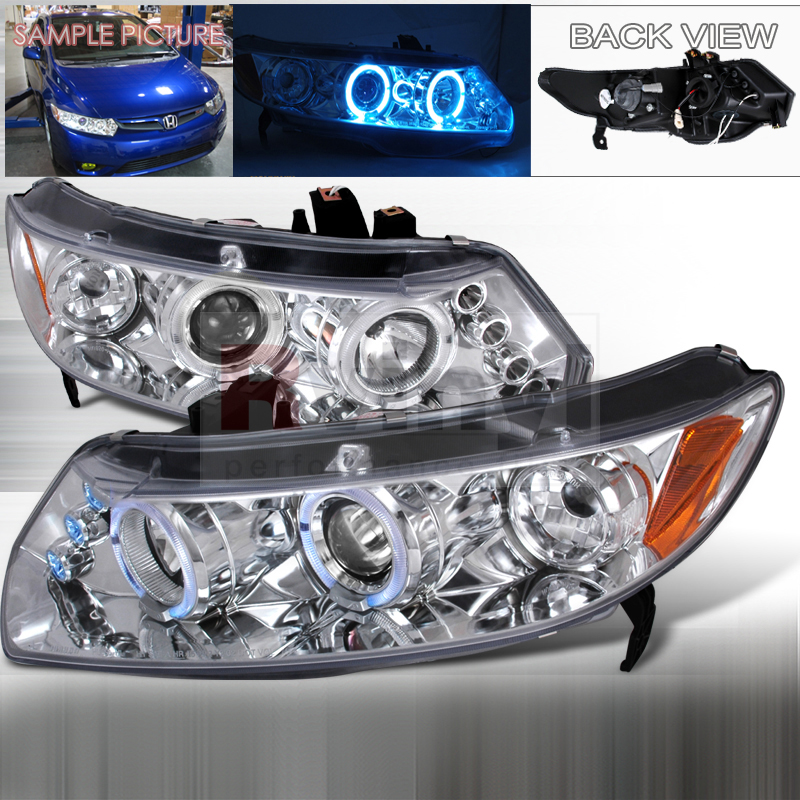 2006 Honda Civic Aftermarket Headlights