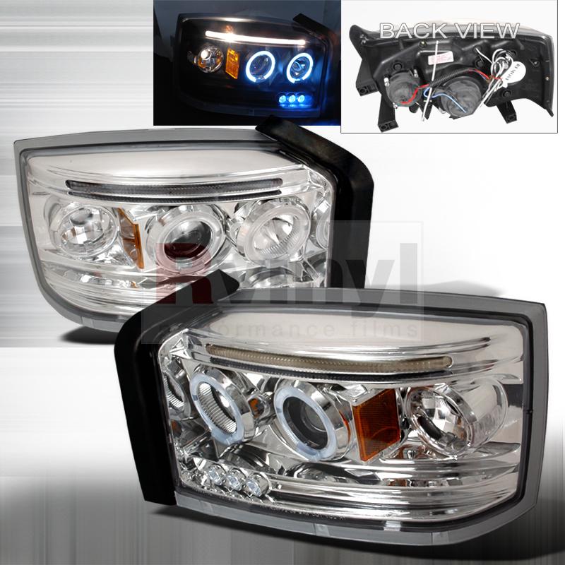 2005 Dodge Dakota Aftermarket Headlights