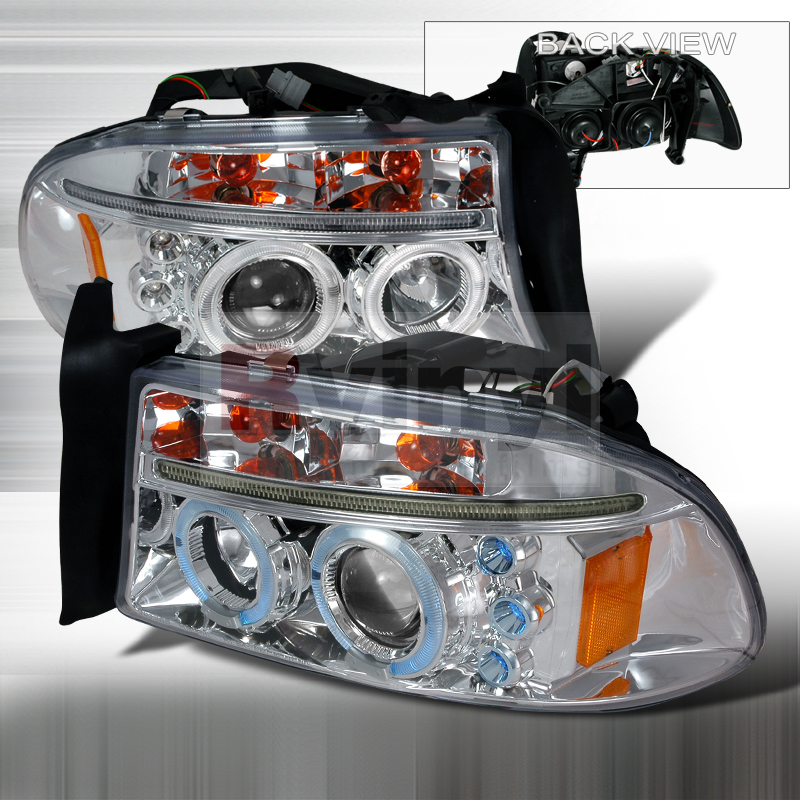 2004 Dodge Dakota Aftermarket Headlights