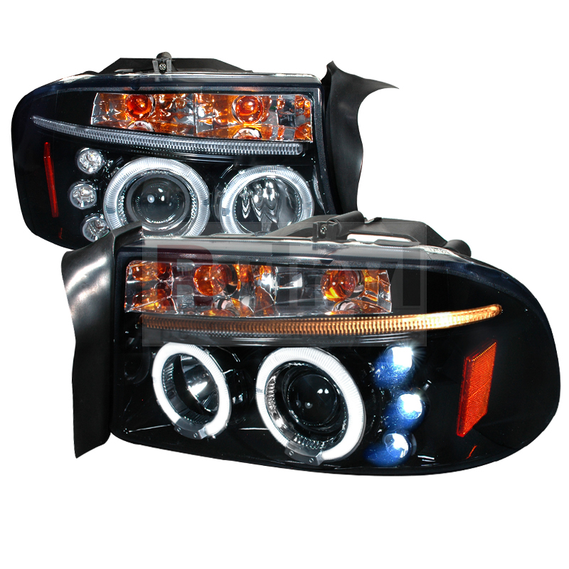2004 Dodge Durango Aftermarket Headlights