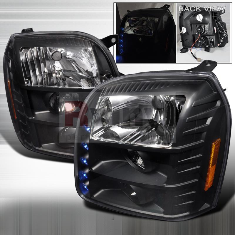 2010 GMC Sierra Aftermarket Headlights