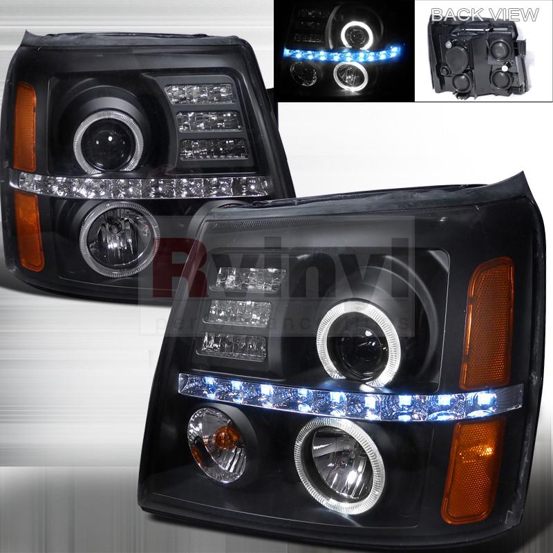 2003 Cadillac Escalade Aftermarket Headlights