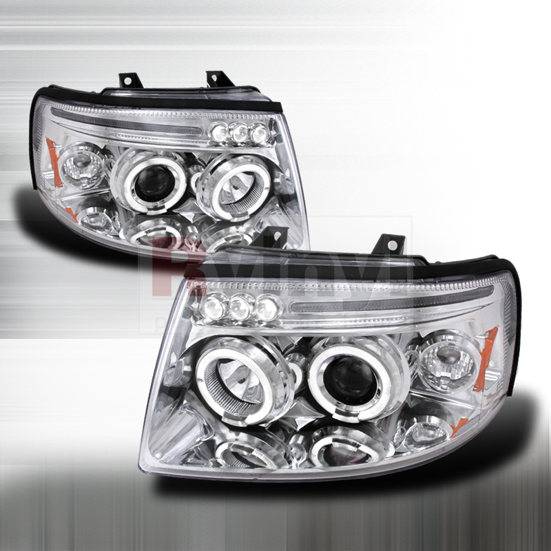 2004 Ford Expedition Aftermarket Headlights