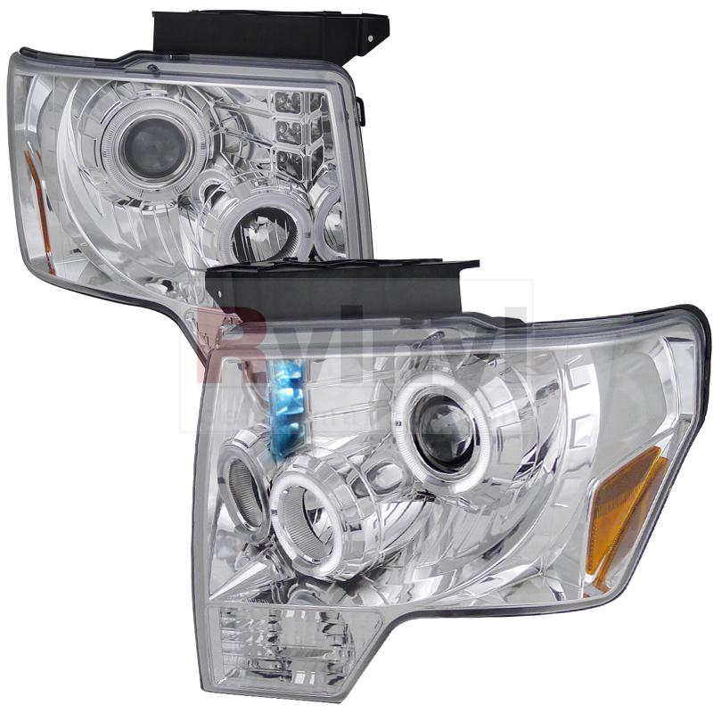 2011 Ford F-150 Aftermarket Headlights