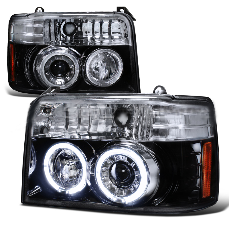 1995 Ford Bronco Aftermarket Headlights