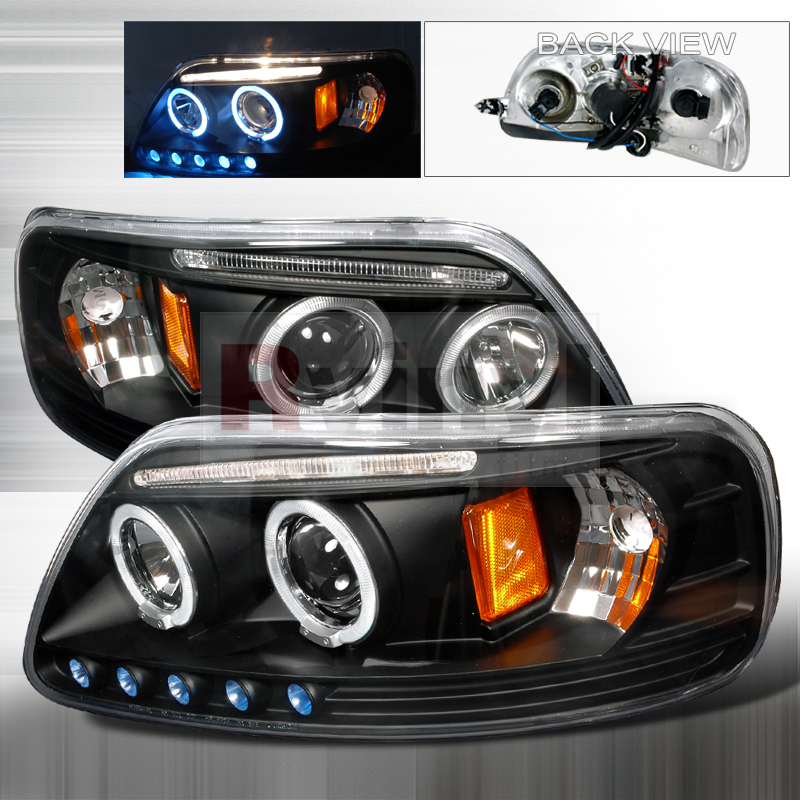 2000 Ford Expedition Aftermarket Headlights