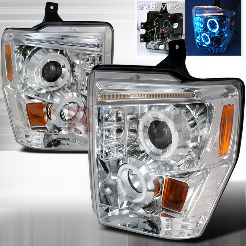 2010 Ford F-350 Aftermarket Headlights
