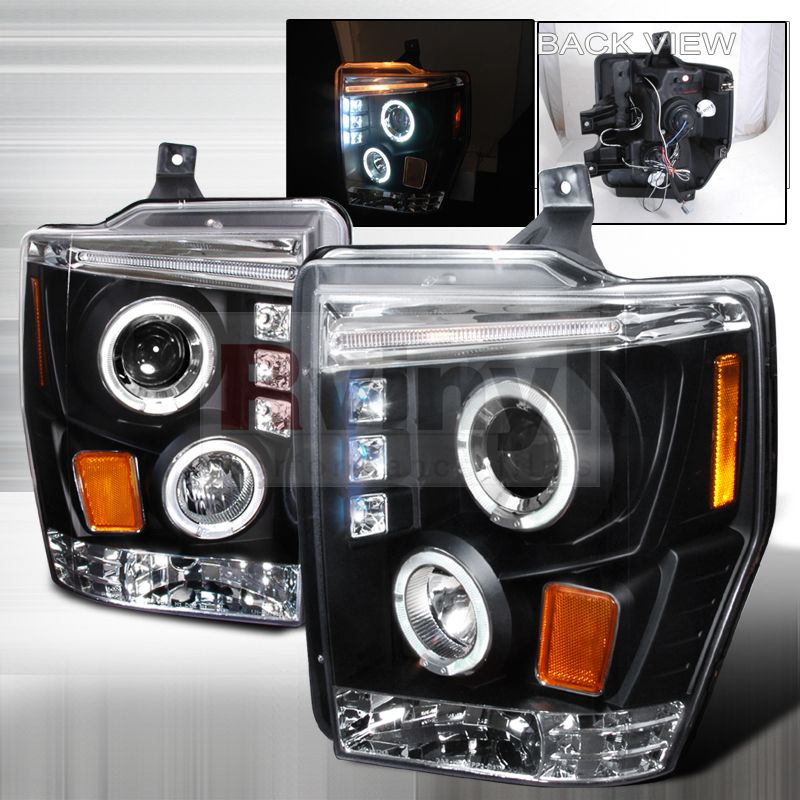 Ford F 250 Headlights : Ford f aftermarket headlights at caridcom autos