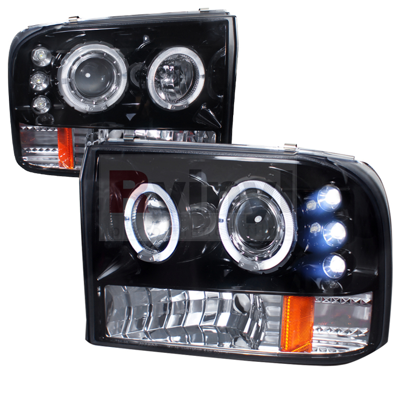 1999 Ford F-250 Aftermarket Headlights