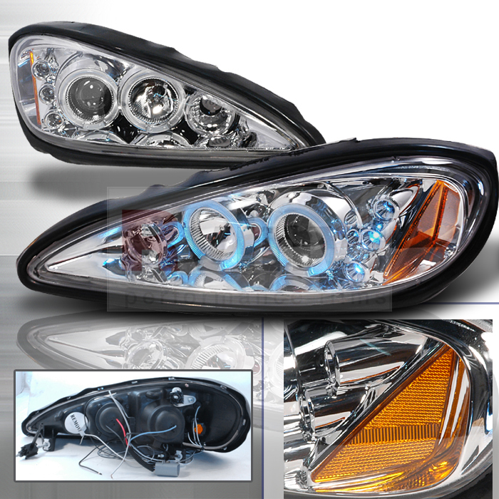 2003 Pontiac Grand Am Aftermarket Headlights