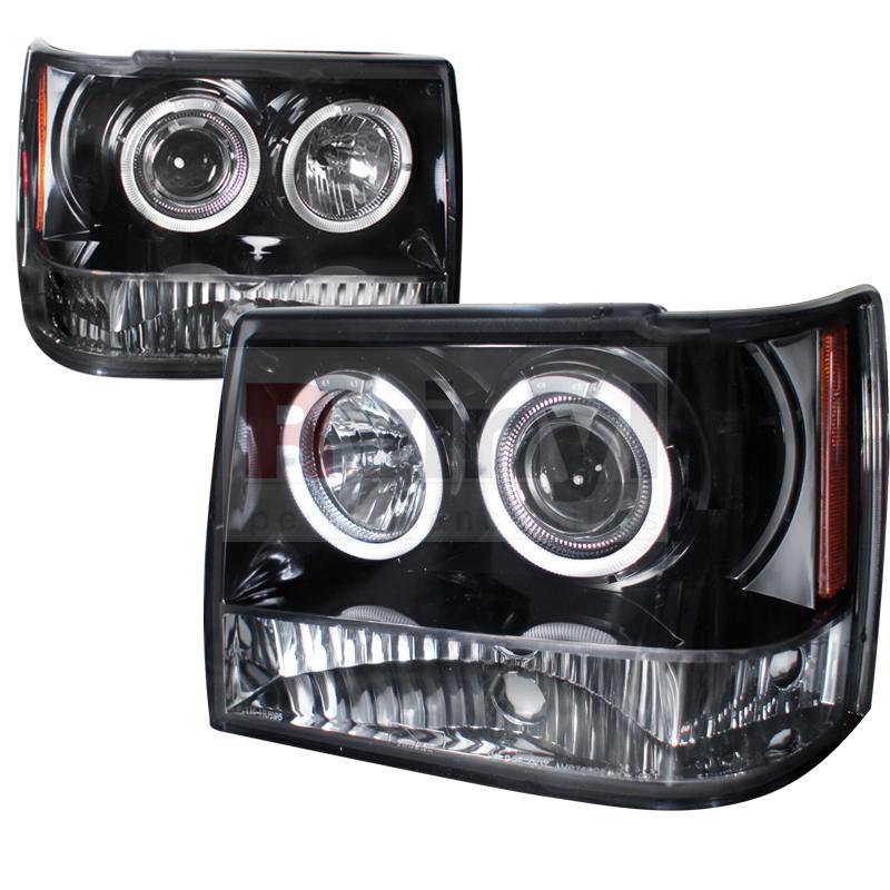 1994 Jeep Grand Cherokee Aftermarket Headlights