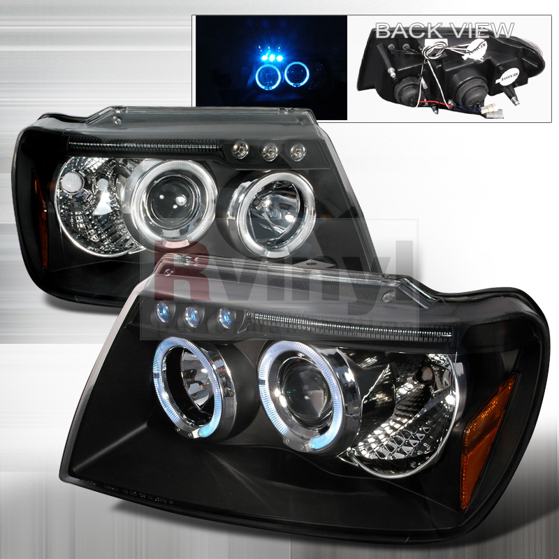 Aftermarket Headlights Jeep Grand Cherokee 2002
