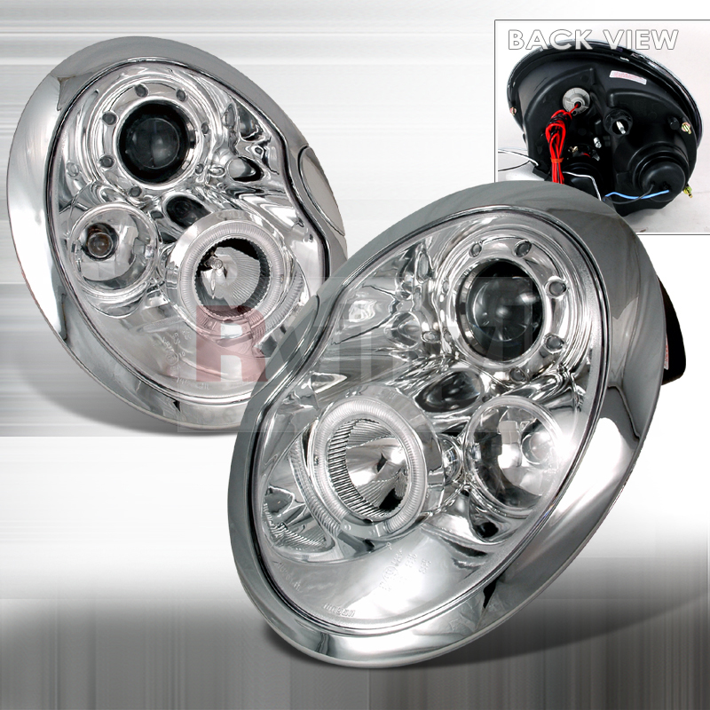 2005 MINI Cooper Aftermarket Headlights