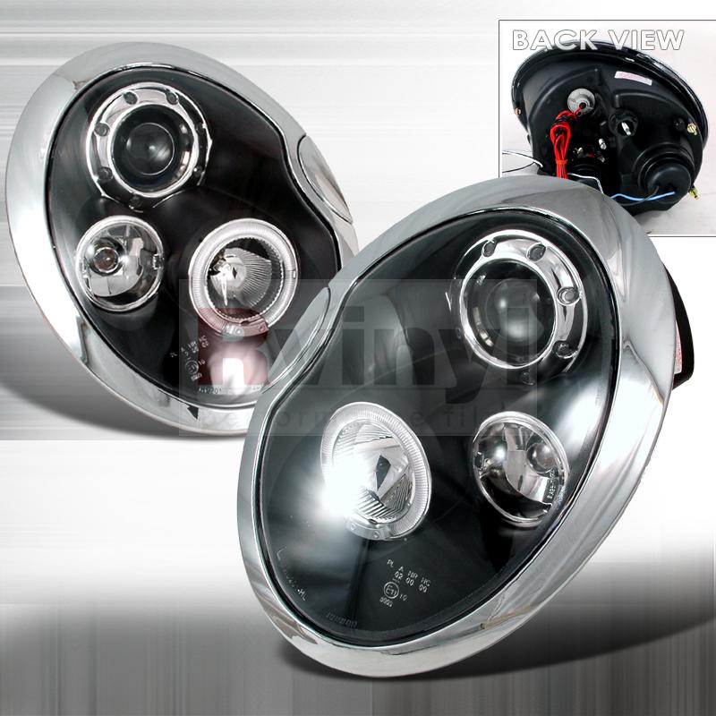 2003 MINI Cooper Aftermarket Headlights