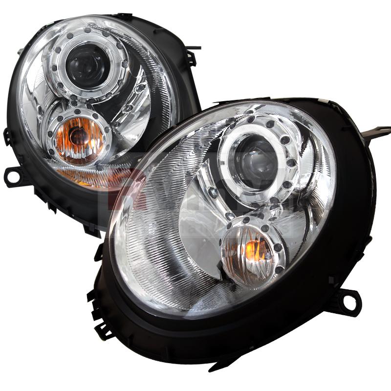 2009 MINI Cooper Aftermarket Headlights