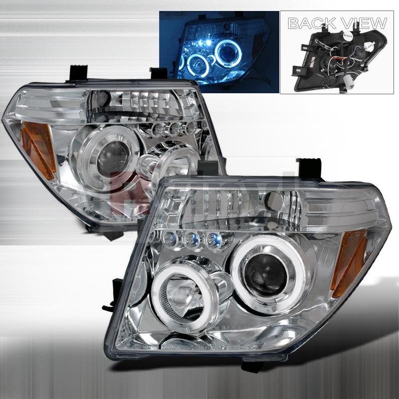 2006 Nissan Frontier Aftermarket Headlights