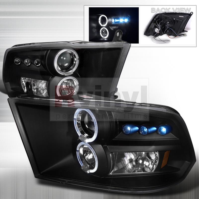2010 Dodge Ram Aftermarket Headlights