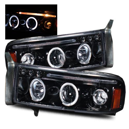 1995 Dodge Ram Aftermarket Headlights
