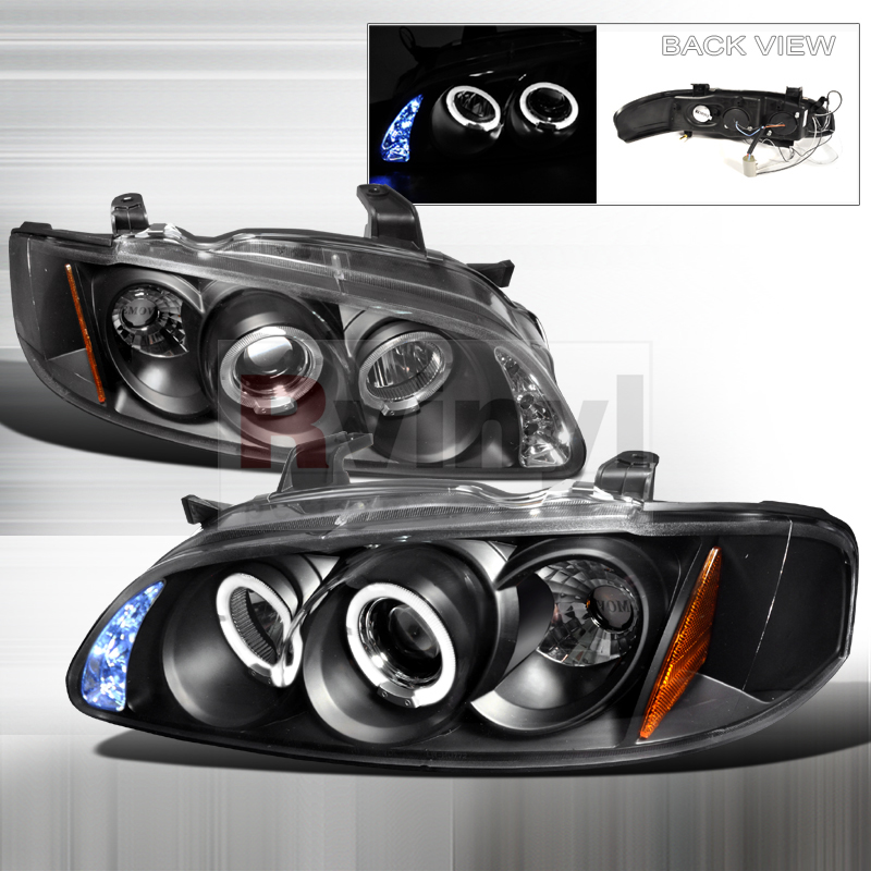 2001 Nissan Sentra Aftermarket Headlights