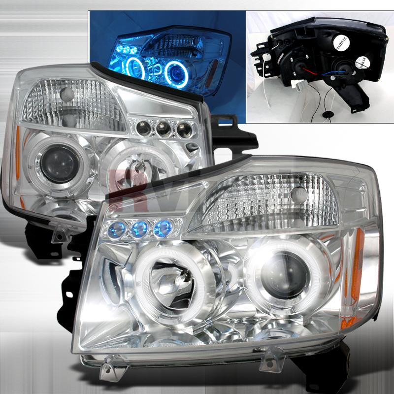 2005 Nissan Armada Aftermarket Headlights