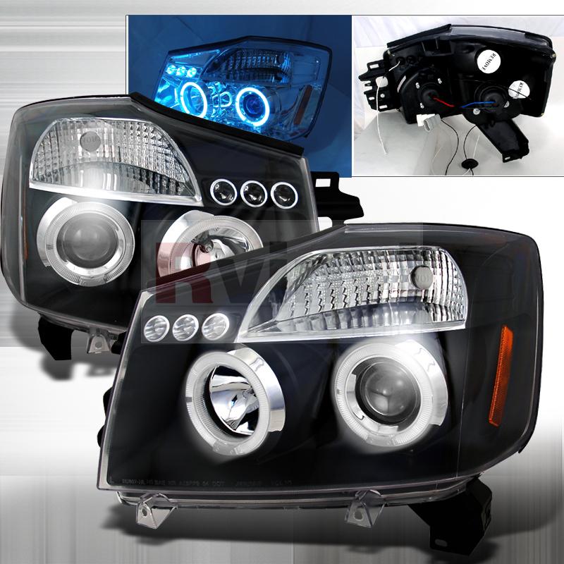 2006 Nissan Titan Aftermarket Headlights