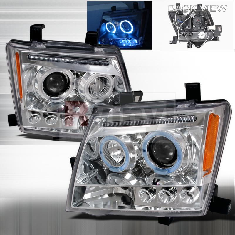 2005 Nissan Xterra Aftermarket Headlights