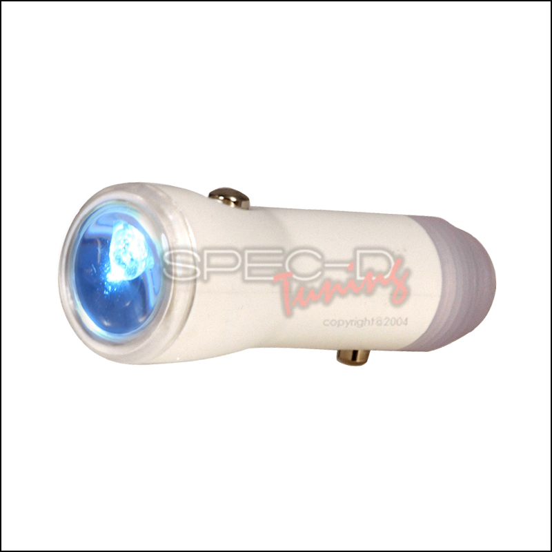 LED Cigarette Lighter Flashlight