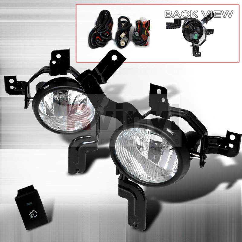 2007 Honda CR-V Aftermarket Fog Lights