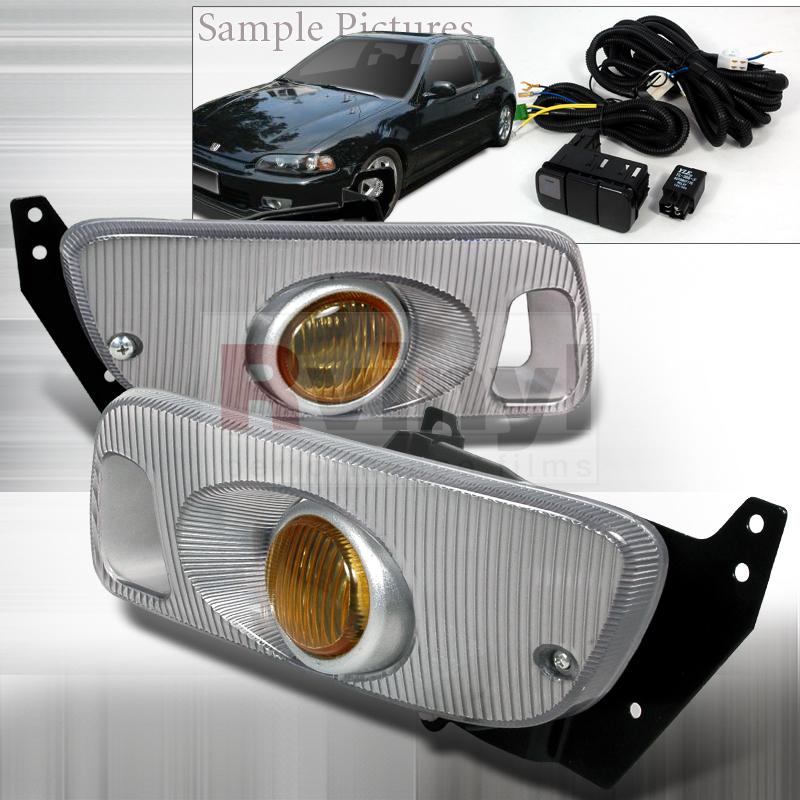1992 Honda Civic Aftermarket Fog Lights