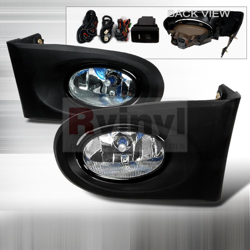 2003 Acura RSX Aftermarket Fog Lights