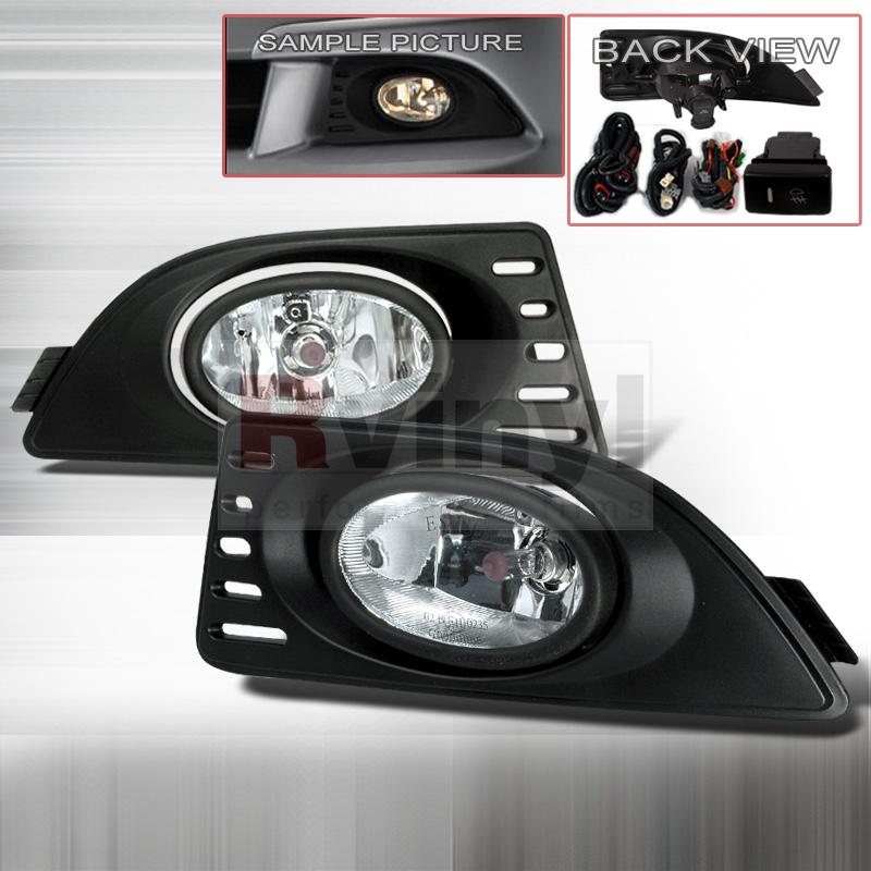2005 Acura RSX Aftermarket Fog Lights