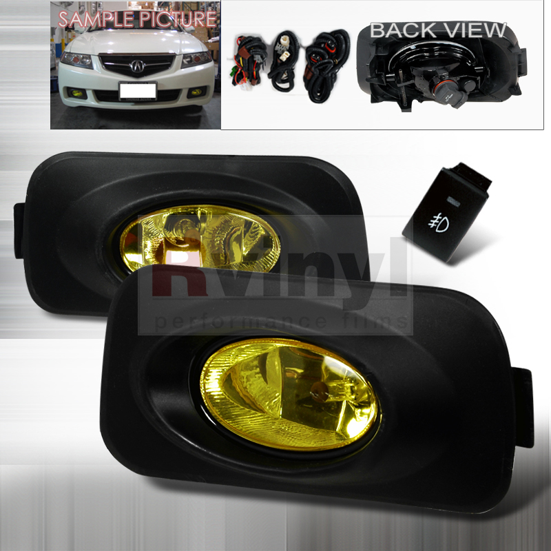 2005 Acura TSX Aftermarket Fog Lights