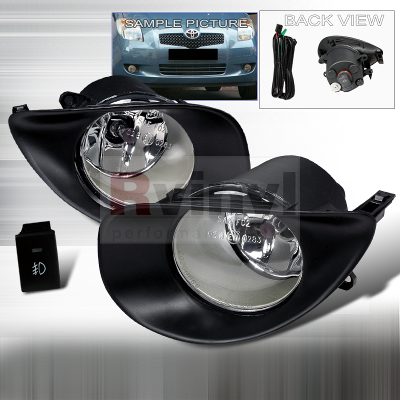2007 Toyota Yaris Aftermarket Fog Lights