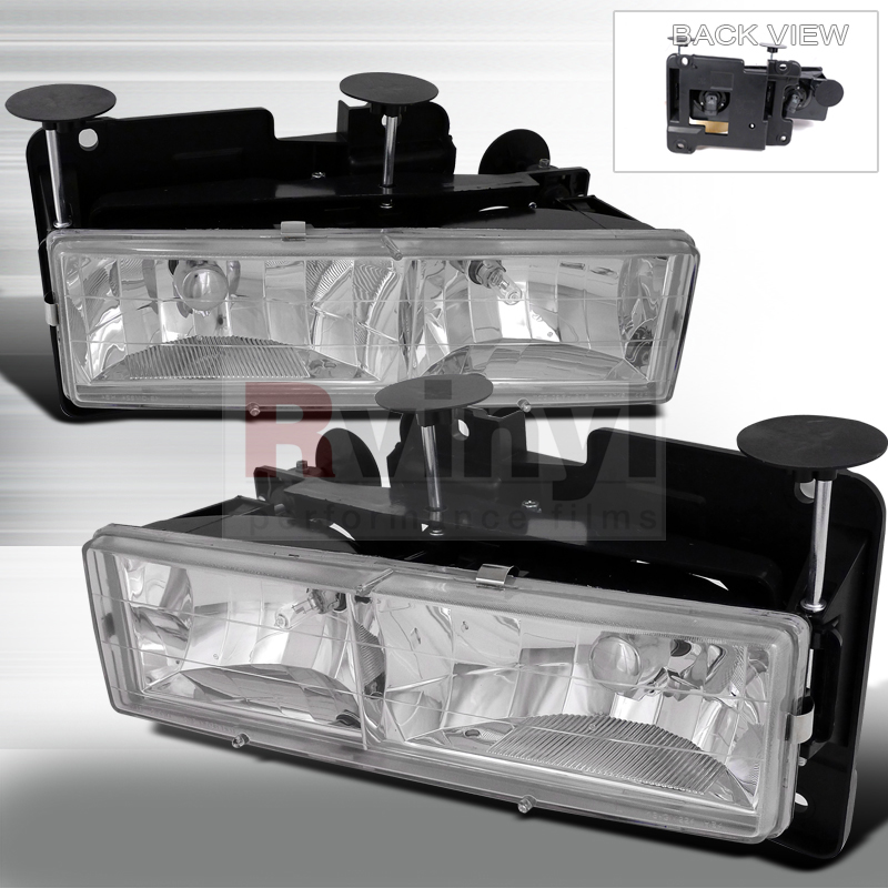 1995 GMC Suburban Aftermarket Headlights