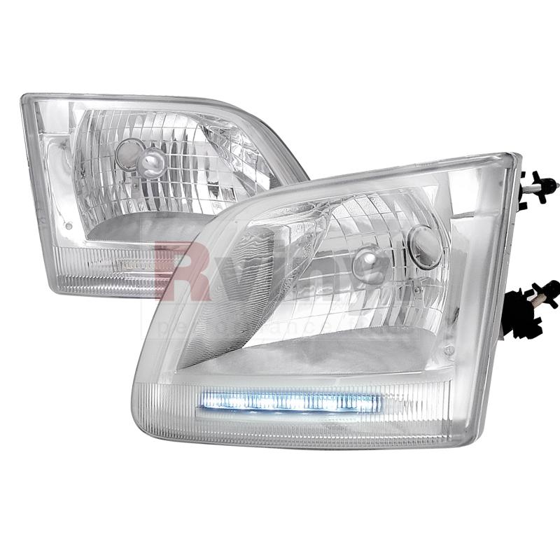 1999 Ford F-150 Aftermarket Headlights