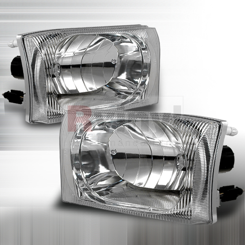 2003 Ford F-550 Aftermarket Headlights