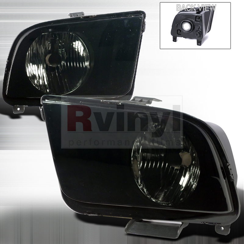 2009 Ford Mustang Aftermarket Headlights
