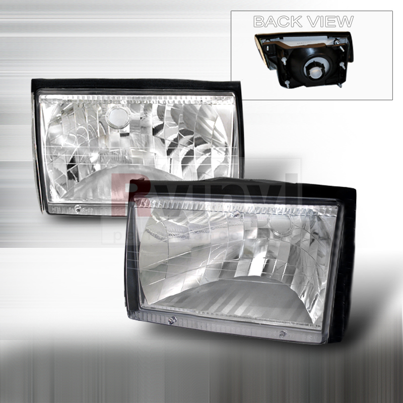 1992 Ford Mustang Aftermarket Headlights