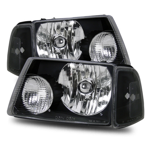 2004 Ford Ranger Aftermarket Headlights