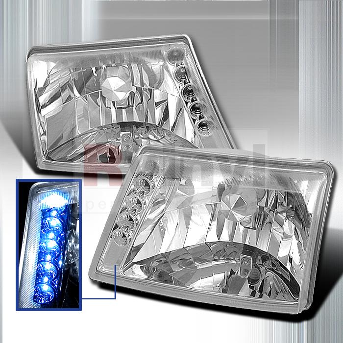 2000 Ford Ranger Aftermarket Headlights